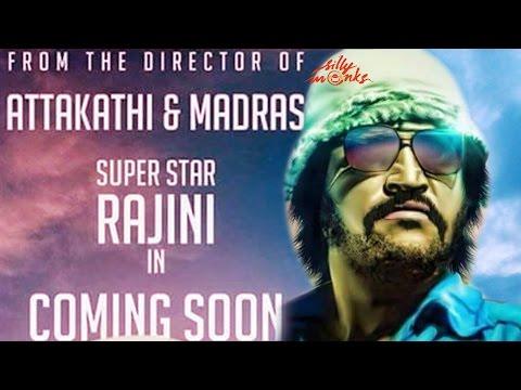 Rajinikanth - Madras Director Ranjith's Next Film - First Look | Fan Made Poster