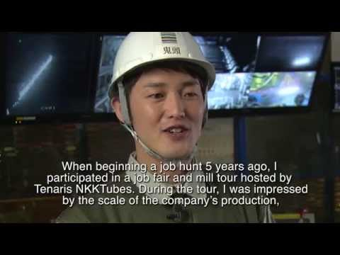 Why I #lovesteel 12 - Shinya Kito, Process Improver, Tenaris NKKTubes, Kawasaki, Japan
