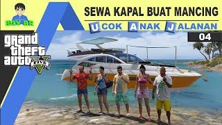 GTA 5 INDONESIA - REAL LIFE - MANCING DI TENGAH LAUT #4