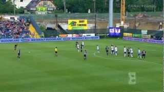 Podbeskidzie Bielsko-Biała - Pogoń Szczecin 2-1 skrót meczu