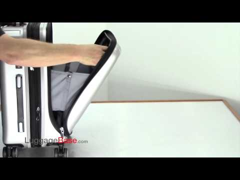 Delsey Titanium International Carry on Video Review - LuggageBase com