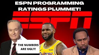 Bill O'Reilly LAYS OUT ESPN TV RATINGS DROP after supporting NBA & Leftists Woke Narratives!