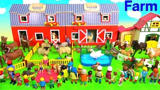 Farm Animal Toys For Kids Cows Sheep Horses Goats - Learn About Farm Animals