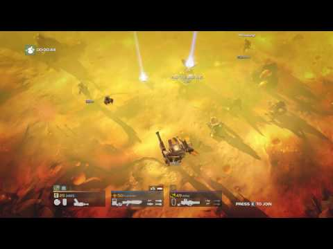 Helldivers - Punisher + Commando vs Bugs |
