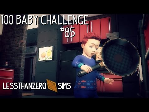 The Sims 4: 100 Baby Challenge | Ep 85: Counter Play!
