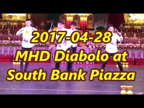 2017-04-28 MHD Diabolo Art Taiwan {Performance 1} at South Bank Piazza