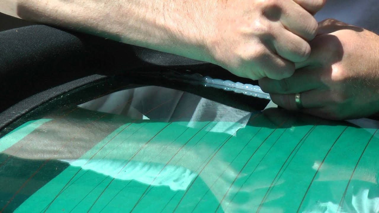 Audi S4 Cabriolet Top Repair Glass Coming Unglued Fix