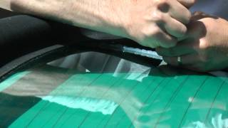 Audi S4 Cabriolet Top Repair - Glass Coming Unglued! Fix it Yourself for $5.