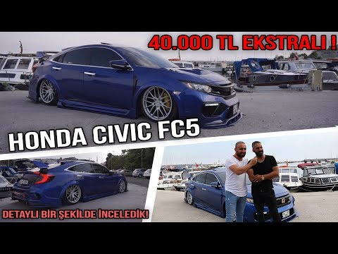 Honda Civic FC5 İnceledik!