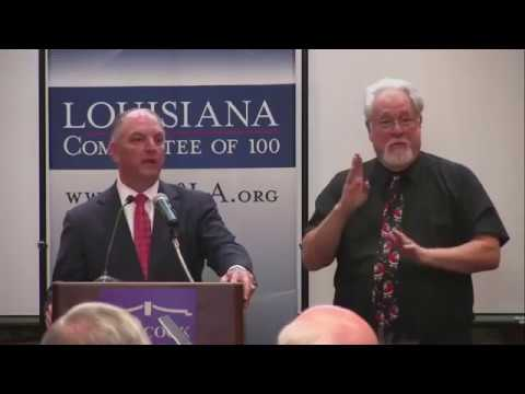 Louisiana Governor John Bel Edwards talks about Fiscal Cliff 2018