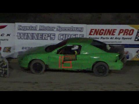 Flinn Stock Feature at Crystal Motor Speedway on 05-06-17