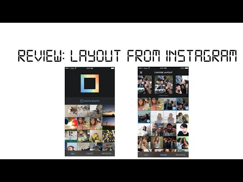 Review: Layout for Instagram
