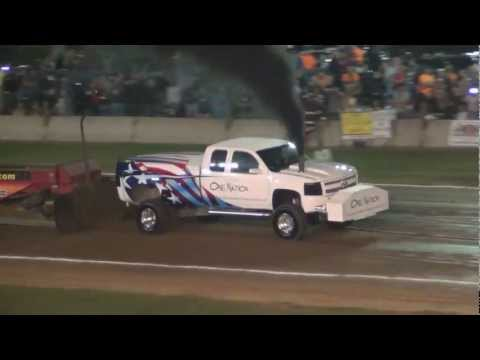 FPP, Pro Stock Diesel, Wayne County Fair, Wooster, Oh, 9/12/12