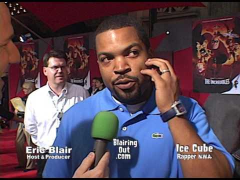 ICE CUBE & Eric Blair talk N.W.A. Superheroes and Family 2005