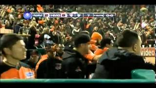 Home Run de Zelous Wheeler de Naranjeros (29/01/2014)