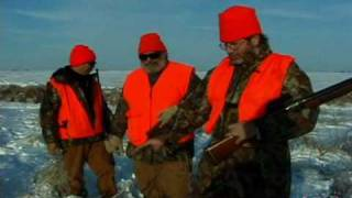 Midwest Winter Pheasant Hunting