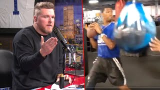 Pat McAfee Reacts To Jameis Winston's Weird Workout