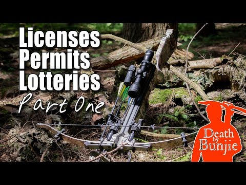 How To Start Crossbow Hunting (Getting Licenses, Part One!)