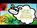 ♪ Beep Beep Im a Sheep ♪ ~ GUN SYNC ~ (The Living Tombstone Remix, Lyrics, Overwatch)