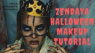 Zendaya Halloween Makeup Tutorial