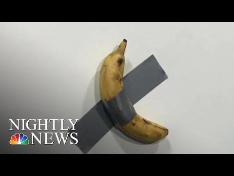 Maui - Artist Sells Banana Duct-Taped To A Wall For $120,000