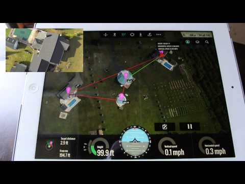 DJI Phantom - Ground Station Test