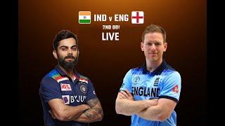 Live: IND vs ENG 2ND ODI   India vs England 2nd ODI Match   Live Score    2021 Series #live#IndvsEng
