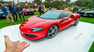 First Look at the new Ferrari 296 GTB! *818HP Baby LaFerrari*