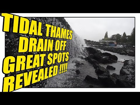 Thames Drain Off Richmond To Teddington - Great Spots Revealed