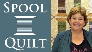 The Spool Quilt: Easy Charm Pack Quilting Tutorial with Jenny Doan of Missouri Star Quilt Co.