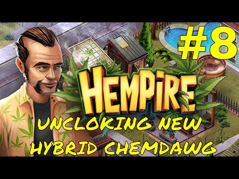 HEMPIRE WEED GROWING GAME / UNLOCKING NEW HYBRID CHEMDAWG / PART 8 GAMEPLAY / iOS/Android