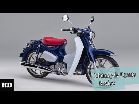 2019 Honda Super Cub C125 Engine and Price l Motorcycle Update