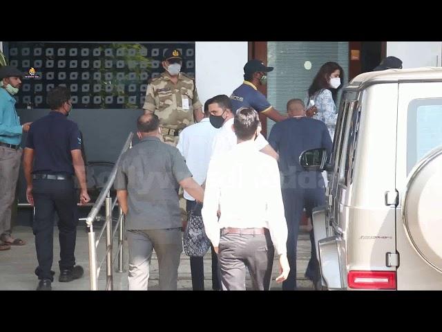 Hardik Pandya Spotted At Kalina Airport