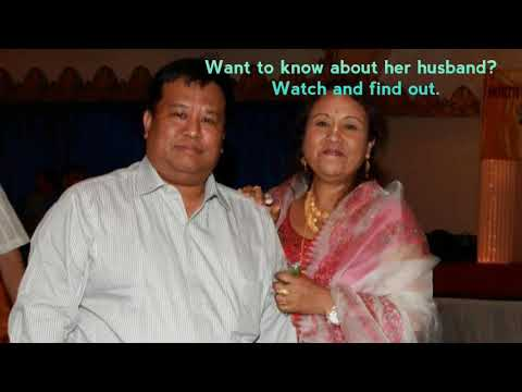 Kebola's husband:Ruhikanta Meetei | scientist in USA