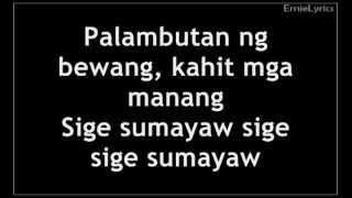 Download Willie Revillame - Sige Sumayaw Lyrics (Wowowillie) MP3 song and Music Video