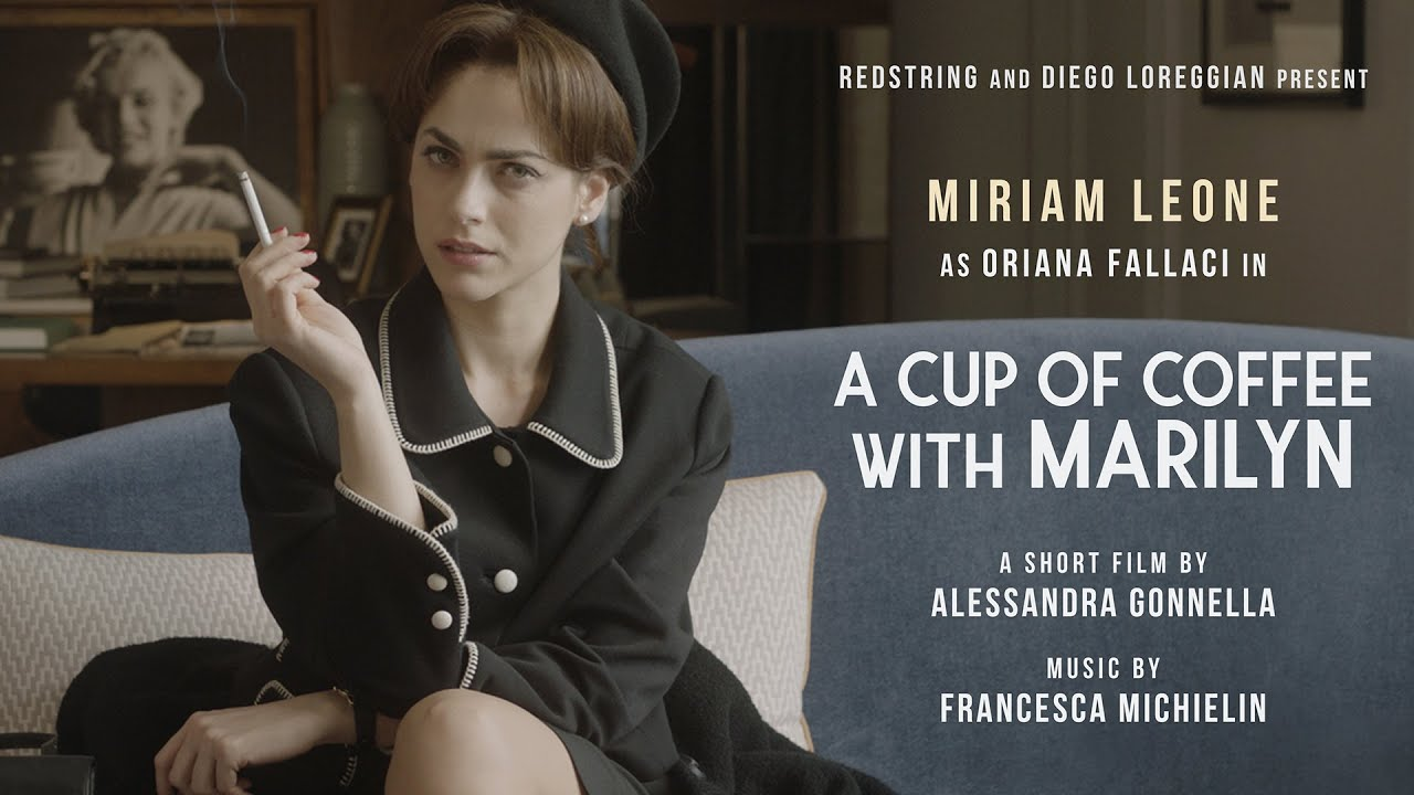 Official Trailer A Cup Of Coffee With Marilyn