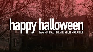 Happy Halloween Paranormal Marathon