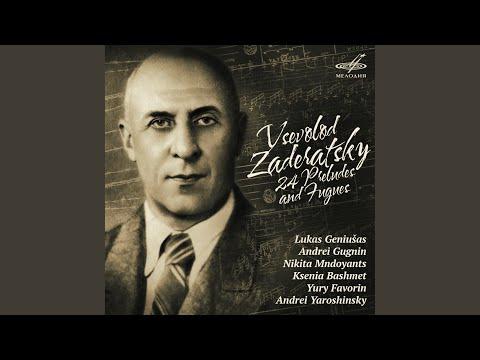 24 Preludes and Fugues: No. 20, Prelude in C Minor