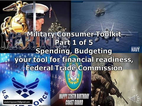 Military consumer toolkit part 1 - Spending, Budgeting