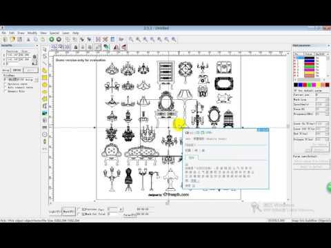 Laser marking software import file formats - YouTube