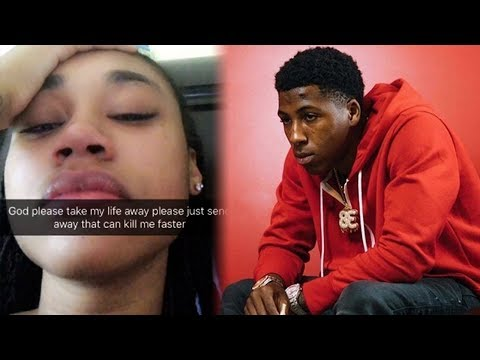 NBA YoungBoy Ex Jania Says She Wants To Die And Breaks Down Crying