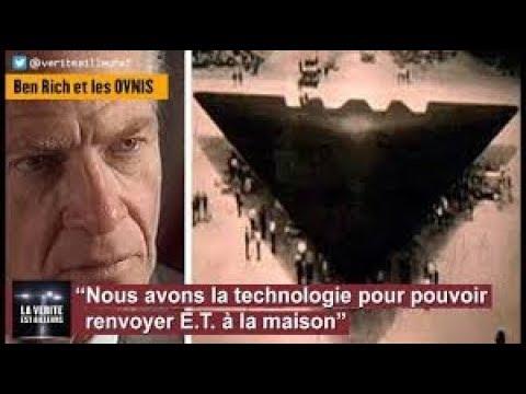 """★ Ben Rich : """"Nous avons la technologie pour renvoyer E.T. à la maison"""""""