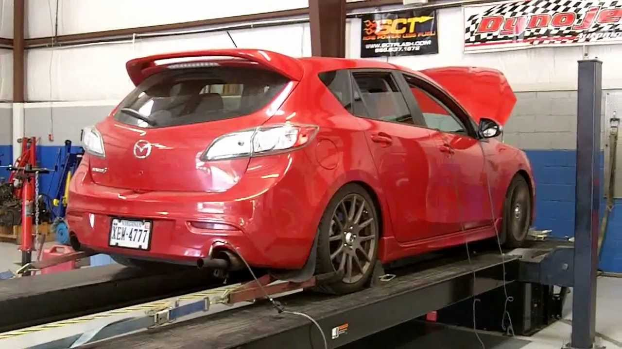 2011 mazdaspeed 3 - dyno day @ horsepower solutions (284/296 hp