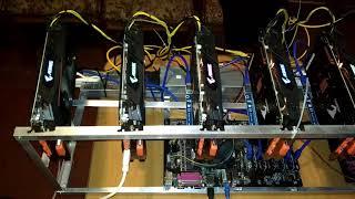 [МАЙНИНГ] 172.6 MHS Продам ферму. Обзор видеокарты Gigabyte Aorus rx570 4gb в разгоне, dual mining.