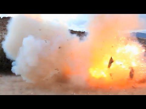 RDX | TNT | C4 Explosion