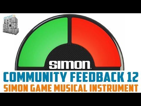 Community Feedback 12 - Simon Game Musical Instrument