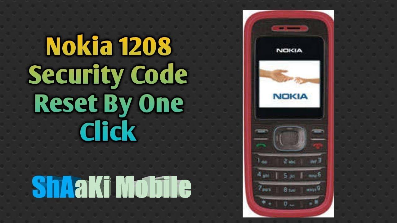 При помощи этой программы вы сможете узнать код блокировки (nokia security code).