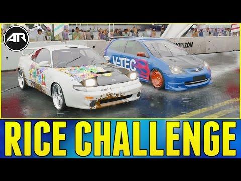 Forza Horizon 3 Online : BEST RICE CAR CHALLENGE!!
