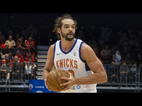 Joakim Noah Plays Rehab Assignment Game With Westchester Knicks