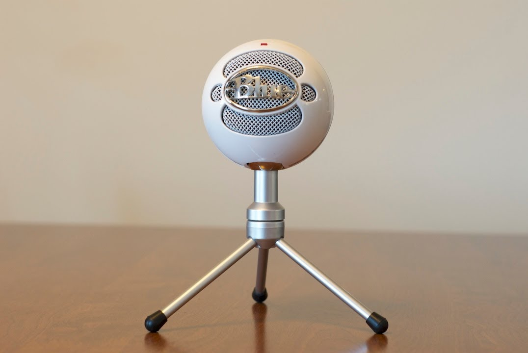 Snowball ice microphone
